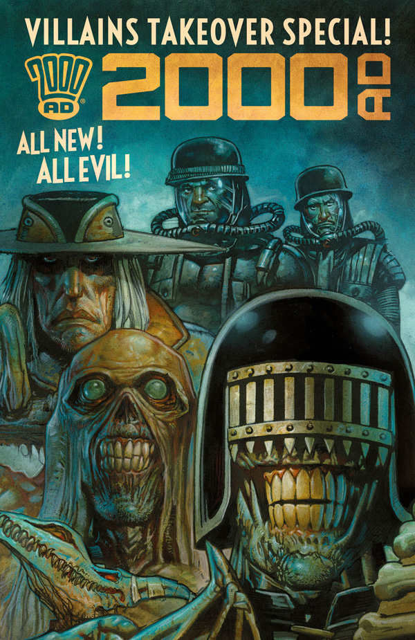 The villains are taking over 2000 AD