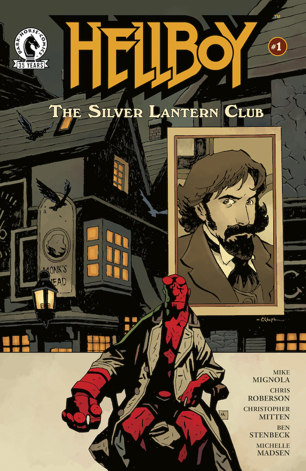 Hellboy Creator Mike Mignola, iZOMBIE Co-Creator Chris Roberson, and Acclaimed Artists Christopher Mitten and Ben Stenbeck Present Hellboy: The Silver Lantern Club
