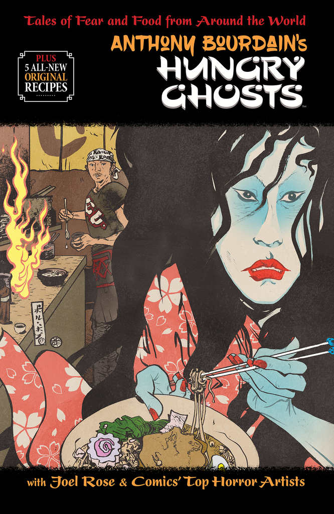 Hungry Ghosts HC Cover