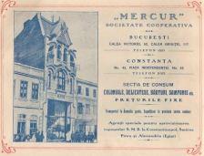"""""""Mercur"""" - societate cooperativă , Piața Independenței no.42"""