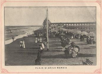 Plaja și băile Mamaia