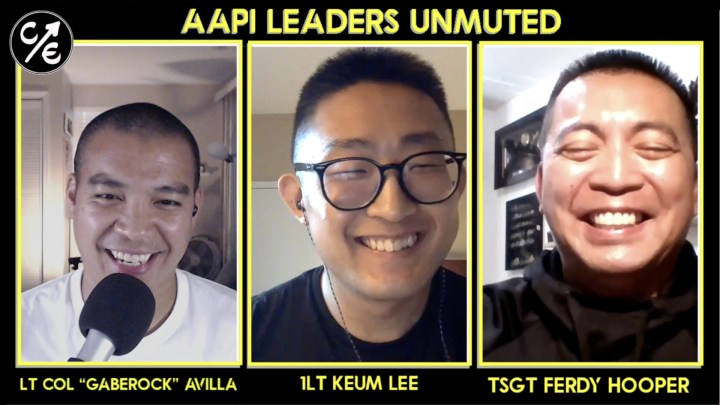 No Pressure…But Don't Screw Up (that AAPI Heritage Event) with 1Lt Keum Lee and TSgt Ferdy Hooper