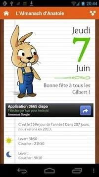 [Présentation Application] L'almanach d'Anatole | Le blog de Constantin image 1