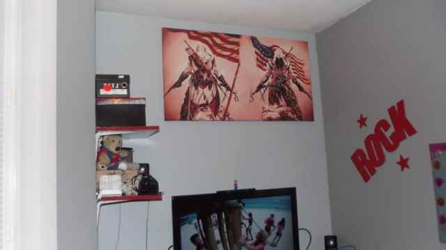 Impression sur toile Assassin's Creed 3