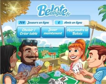 BeloteEnLigne.fr - Le meilleur jeu de Belote sur Facebook ! | Le blog de Constantin