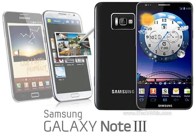Galaxy Note 3: Que nous réserve Samsung? | Le blog de Constantin