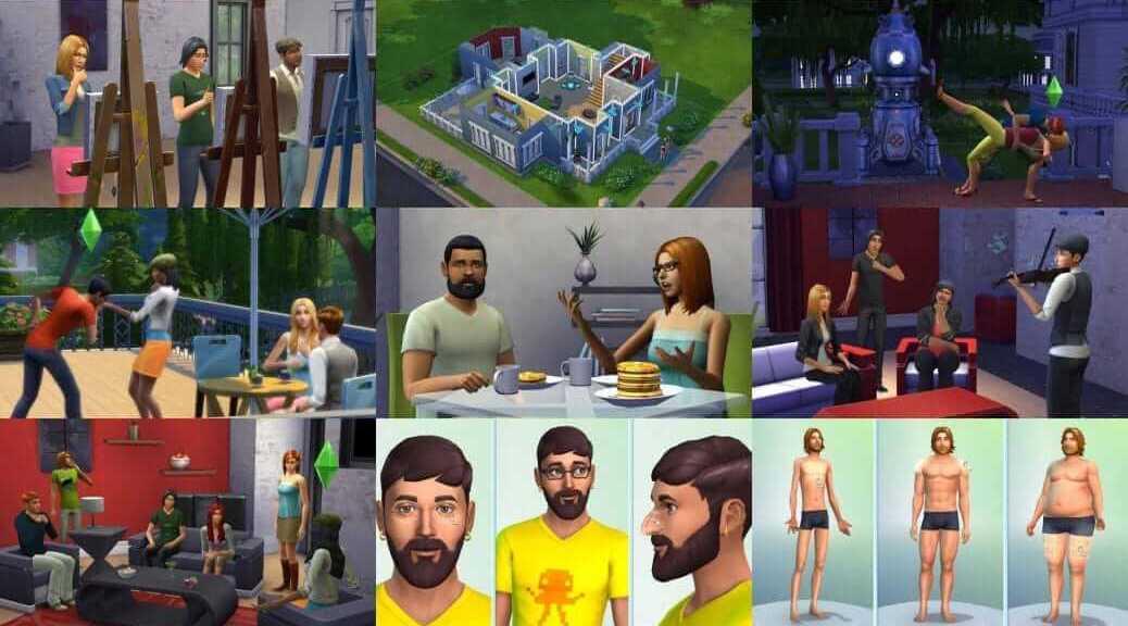 Les Sims 4 : premières infos et images   Le blog de Constantin