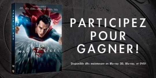 Concours - Gagnez le Blu-Ray Man of Steel | Le blog de Constantin