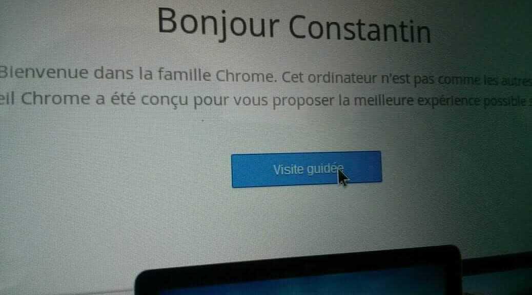 Avis - Chromebook HP 11 | Le blog de Constantin image 1