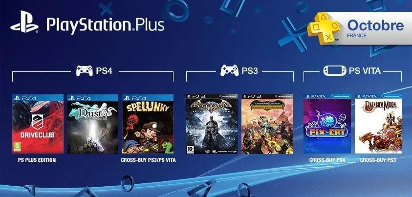 Les jeux PlayStation Plus du mois d'octobre 2014 | Le blog de Constantin