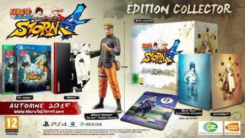 Naruto Shippuden Ultimate Ninja Storm 4 présente ses éditions exclusives ! | Le blog de Constantin image 1