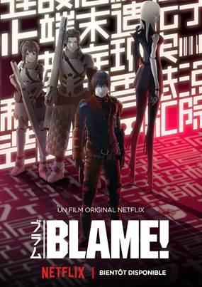Netflix annonce la diffusion mondiale du film d'animation Blame! | Le blog de Constantin