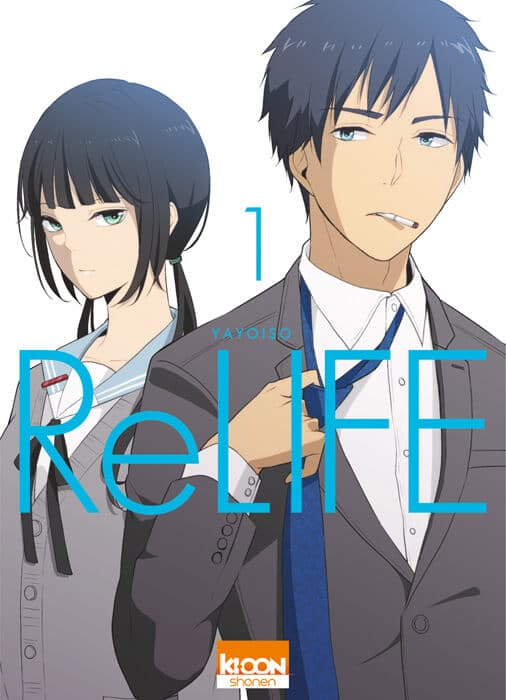 Avis Manga – Relife T.1