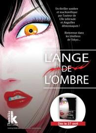 L'ange de l'ombre annoncé aux éditions Komikku ! | Le blog de Constantin
