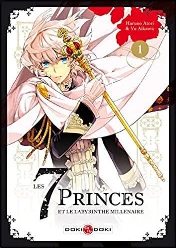 Avis Manga – Les 7 princes et le labyrinthe millénaire