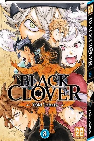 Avis Manga – Black Clover T8