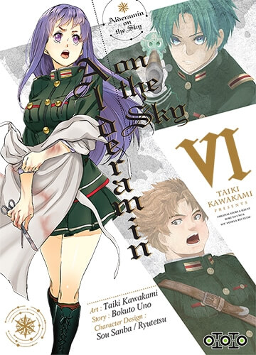 Avis Manga – Alderamin On The Sky 6