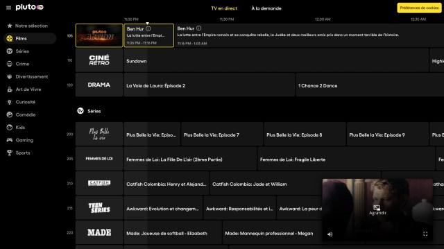 Pluto Tv Interface3