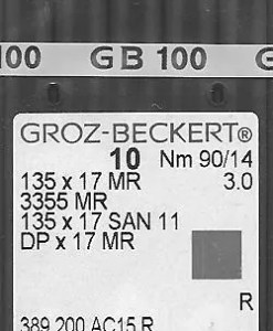 Groz Beckert San6 90/14 needles