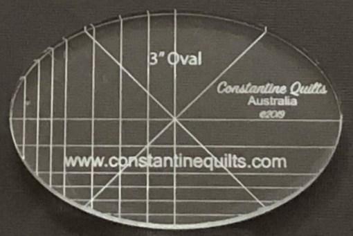 "3"" oval"
