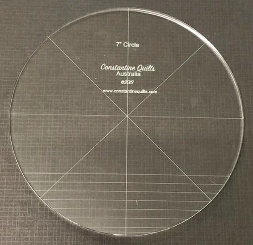 "7"" circle"