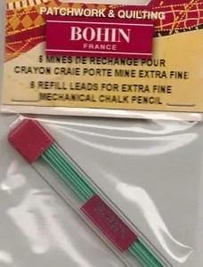 Bohin Green refill
