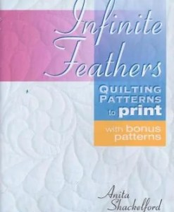 Infinite Feathers Quilting Pattern on CD