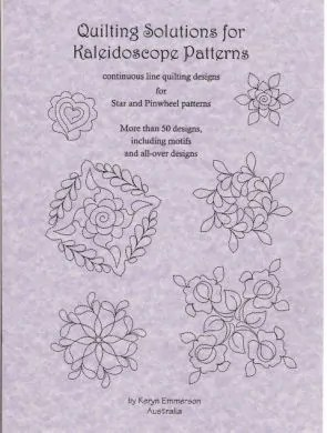 Quilting Solutions for Kaleidoscope Patterns