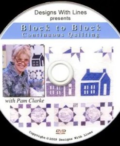 Block to Block Continuous Quilting DVD workbook