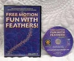 Free Motion Fun with Feathers! Vol 3