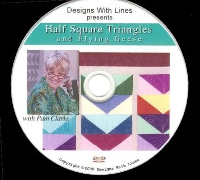 Half Square Triangles and Flying Geese DVD workbook