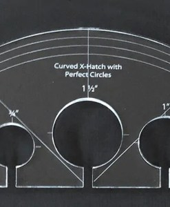 Curved XHatch with perfect circles