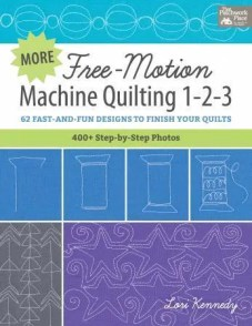 Free-motion quilting 1-2-3