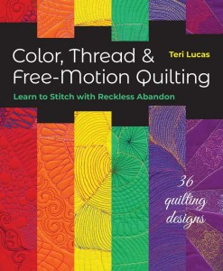 Colour, thread and free-motion quilting