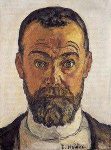 Hodler Ferdinand autoportrait