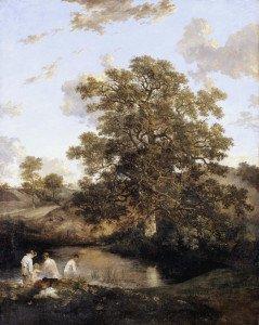 The Poringland Oak c.1818-20 by John Crome 1768-1821