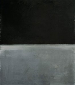 Rothko, Untitled, Black on gray, Guggenheim, 1970