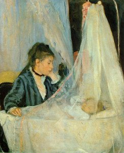 Berthe Morisot Le berceau