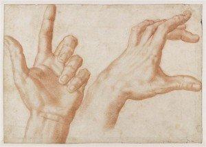 Etude des mains, Baccio