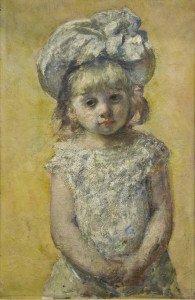 Mary Cassat portrait de fillette Bordeaux