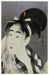 Utamaro fuku_onna
