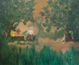 Crearea lumii, ulei pe pânză, 65x54 cm, an: 2007