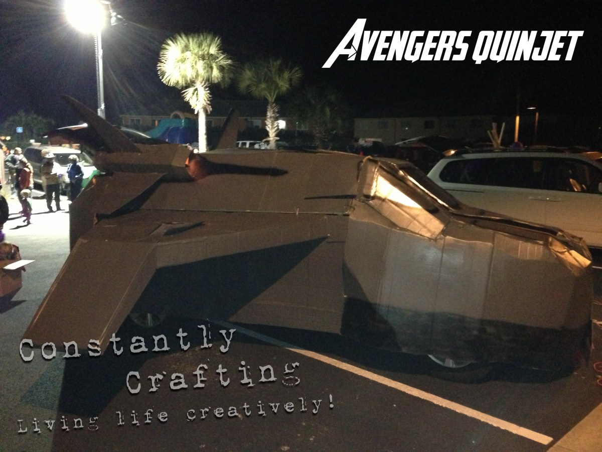 Marvel Avengers Quinjet - Inspiration for an Awesome Trunk or Treat Car!