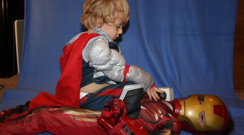 Calendar - Thor Places Mjolnir on Iron Man