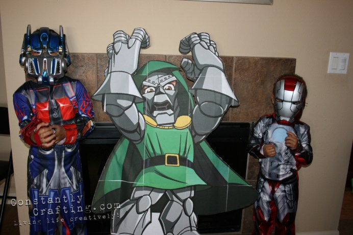 Dr. Doom Photo Prop