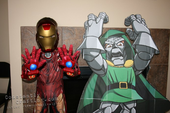 Iron Man vs Dr. Doom
