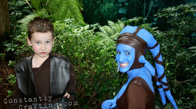Aayla Secura and Anakin