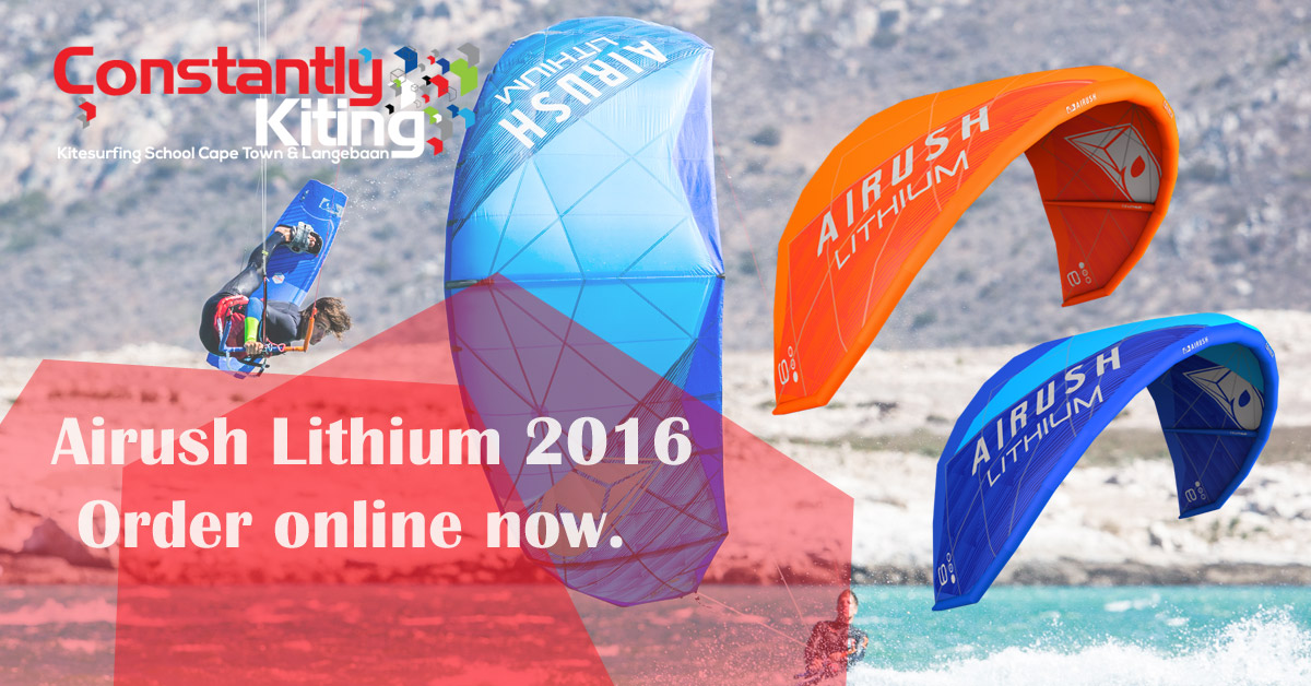 Airush Lithium 2016 Now Online To Buy At Constantly Kiting