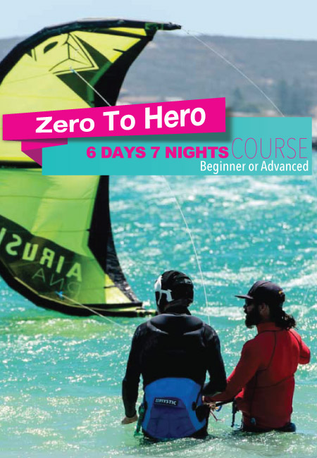 ZERO TO HERO KITESURFING COURSEZERO TO HERO KITESURFING COURSE