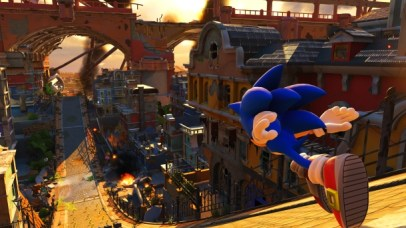 Sonic Forces Modern Sonic Screenshot 2